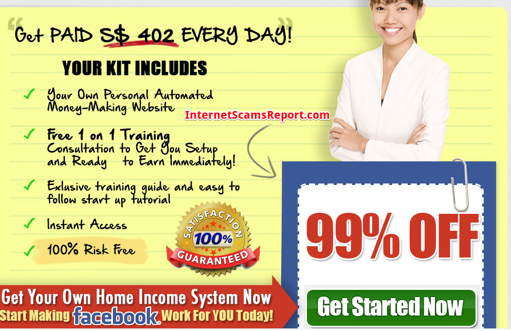 is Facebook Millionaire system a scam