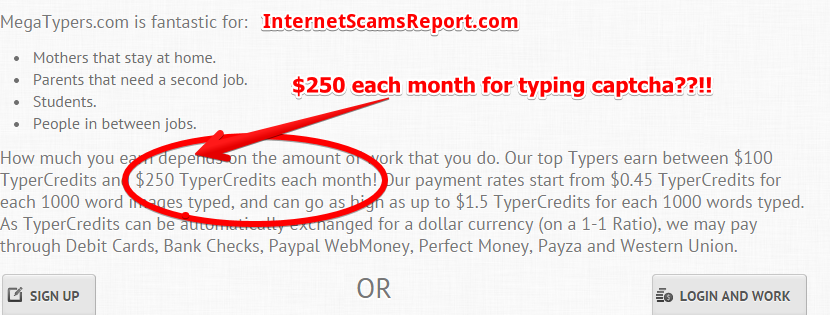 Is Megatypers a Scam?