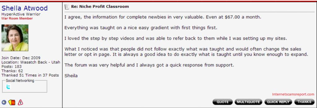 Niche Profit Classroom1