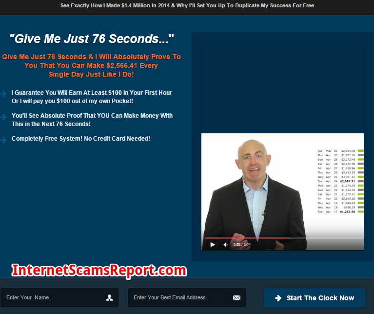 Is 76 Seconds a scam?