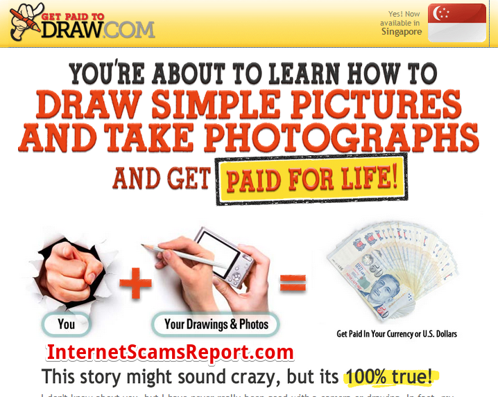 Is Get Paid To Draw a Scam?