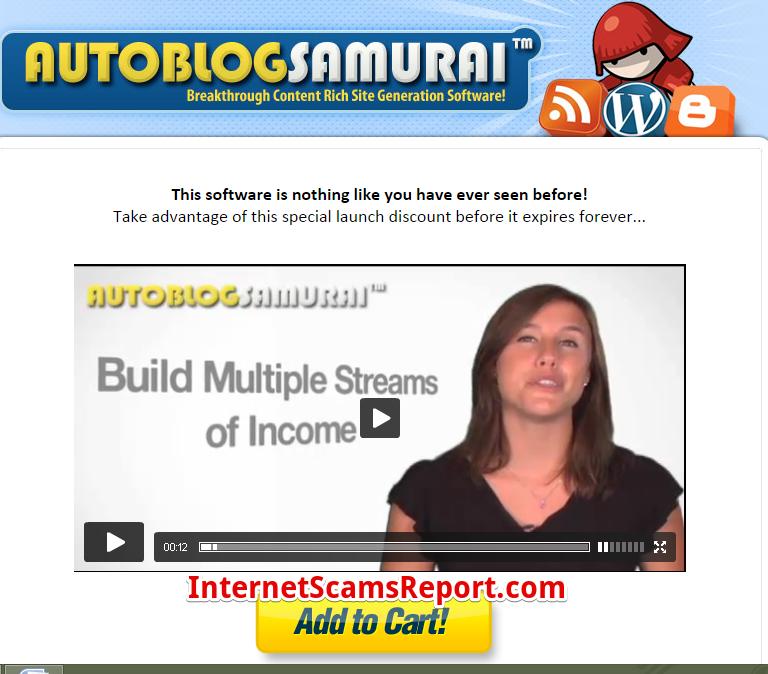 Is Autoblog Samurai a scam?