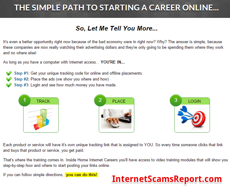 Is Home Internet Careers a scam?
