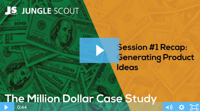 The Jungle Scout Million Dollar Case Study Journey