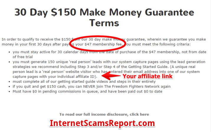 Is The Freedom Fighters Network a scam?