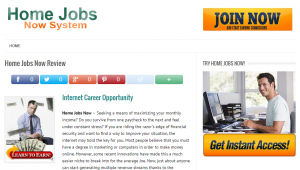Home jobs now system 1