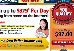Is At Home Income Package a scam?