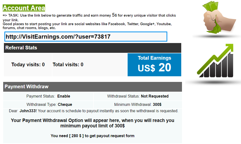 Is Visit Earning a Scam?