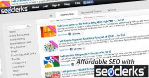 SEO Clerks - Budget SEO service