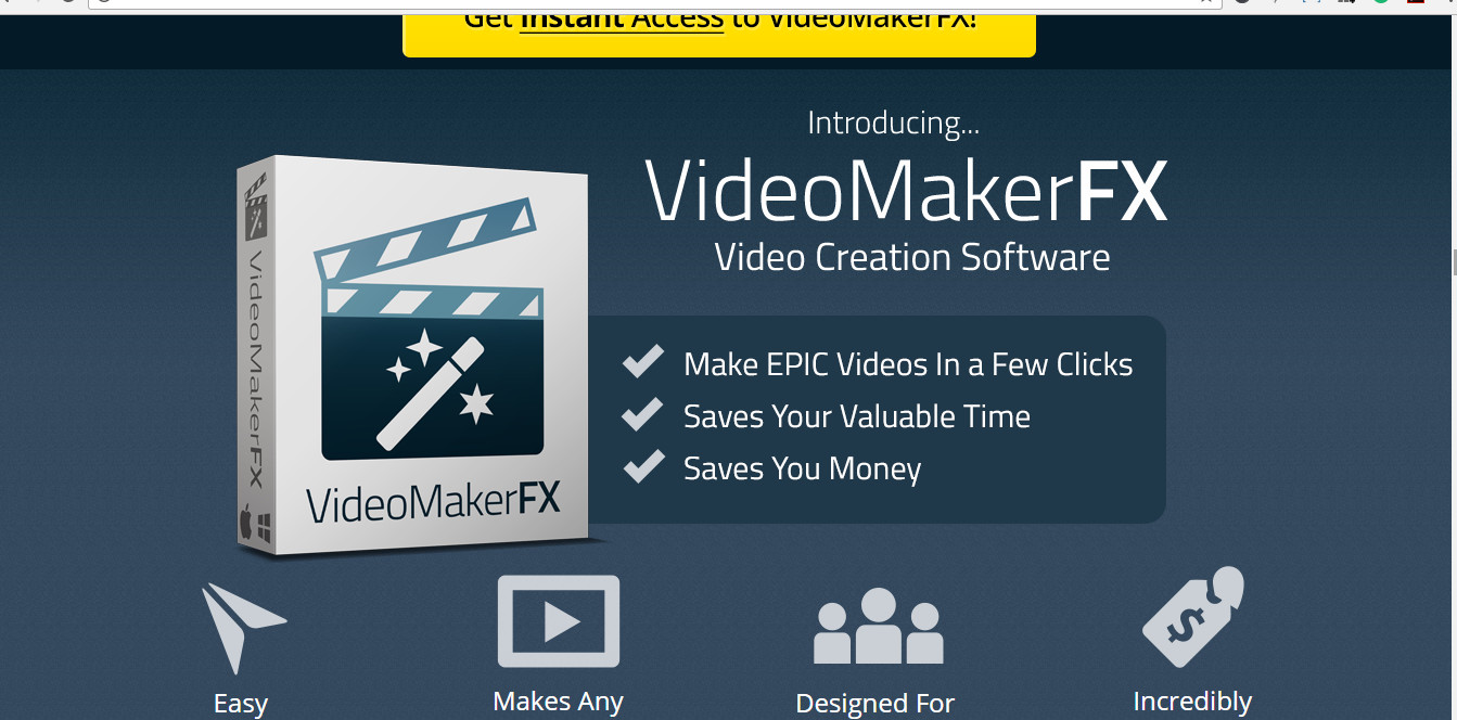video maker fx