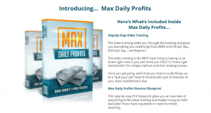 Max Daily Profits