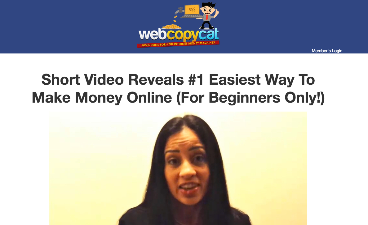 Is Web Copy Cat A Scam