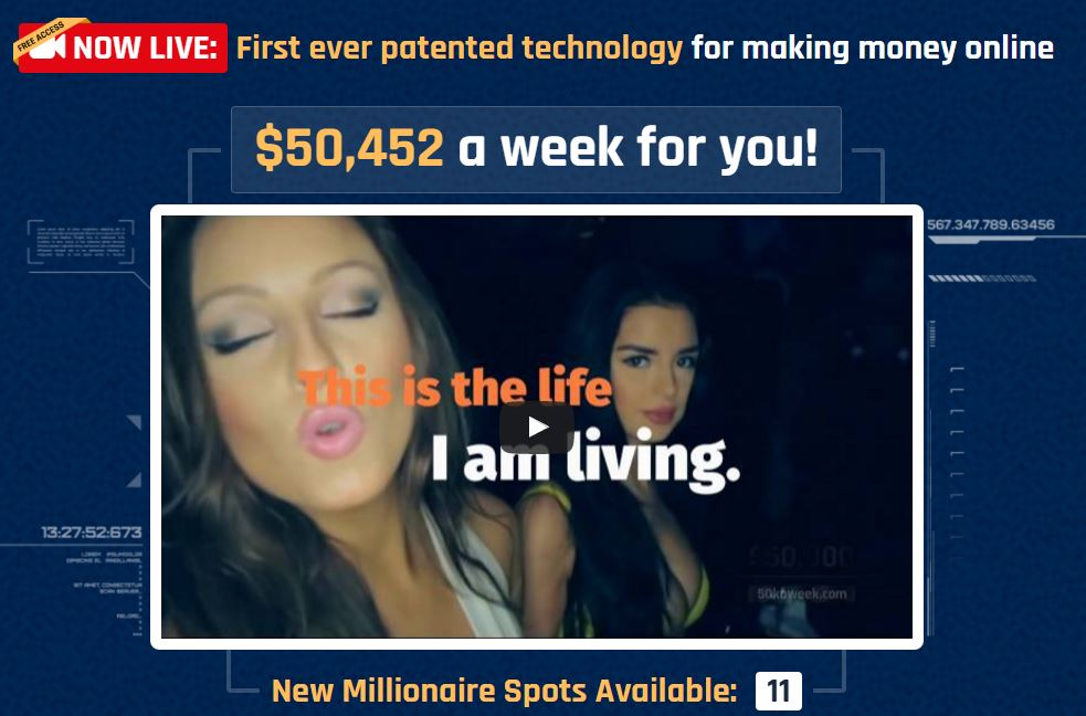 Is 50k A Week A Scam