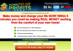 Is Home Online Profits Club A Scam