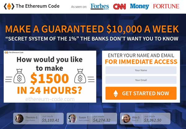Is The Ethereum Code A Scam
