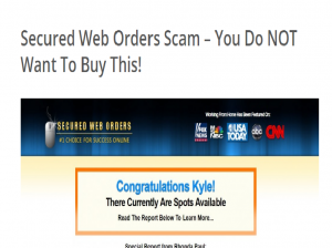 Is Secured Web Orders A Scam
