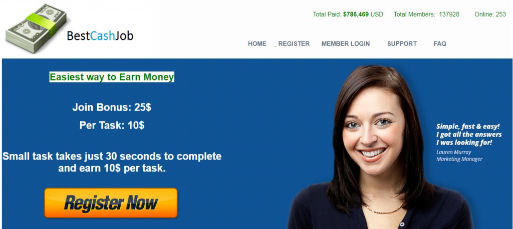 Is Best Cash Job A Scam