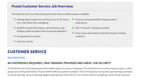 Is Postal Jobs Source a Scam
