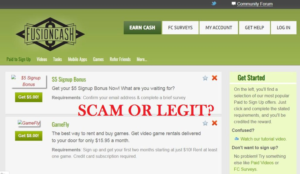 Is FusionCash Scam or Legit Website to Make Money Online?