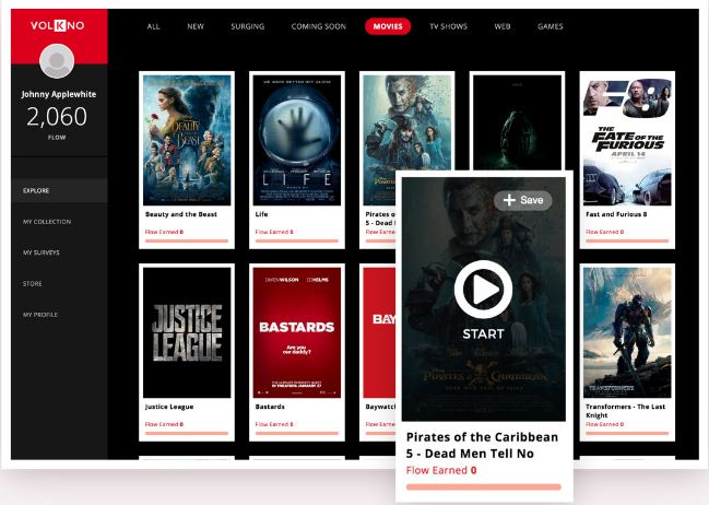 VolKno Review – Watch Movies and Earn Cash Rewards! - VolKno Homepage