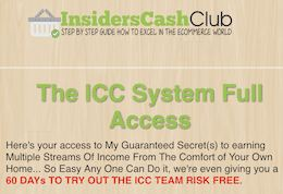 Insiders Cash Club Review – Another $5000 Insiders Scam Exposed! - ICC Logo