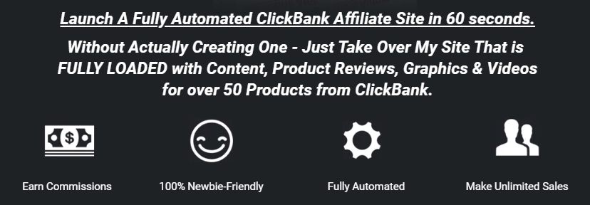 What is Instant Commission Site About?