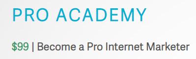 Pro Academy - $99